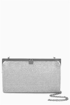 Diamanté Clutch