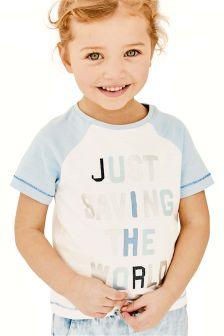Save The World T-Shirt (3mths-6yrs)