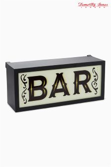 Temerity Jones 'Bar' Light Box