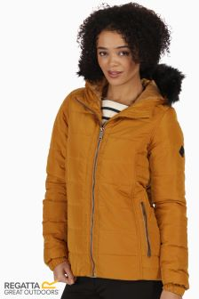 Regatta Gold Cumin Wynne Jacket Non Waterproof
