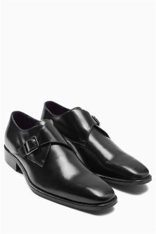 Signature Single Buckle Monk Shoe