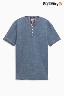 Superdry Short Sleeve Henley T-Shirt