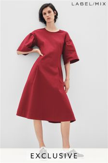 Mix/Rejina Pyo Volume Sleeve Dress