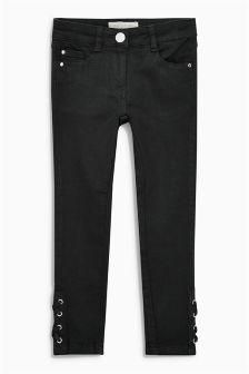 Lace Hem Jeans (3-16yrs)