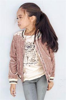 Velvet Jacket (3-16yrs)