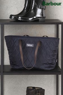 Barbour® Navy Witford Small Tote Bag