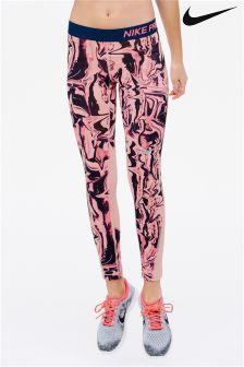 Nike Pink Marble Tight