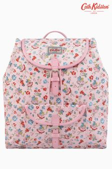 Cath Kidston Pink Fairies Drawstring Satchel Backpack