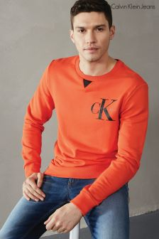 Calvin Klein Orange Haxo Sweatshirt