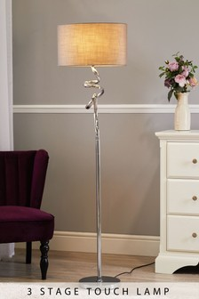 Small Touch Ribbon Floor Lamp