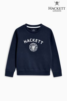 Hackett Navy Crew Sweatshirt