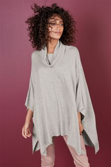 Deluxe Roll Neck Poncho