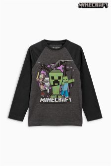 Minecraft Long Sleeve T-Shirt (4-14yrs)