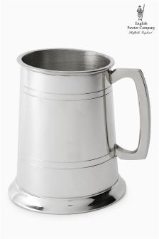English Pewter Company One Pint Tankard