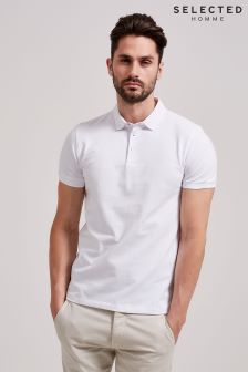 Selected Homme White Polo