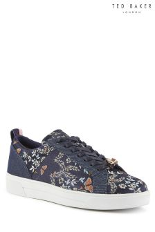 Ted Baker Blue Kyota Sorcey Lace Up Sneaker
