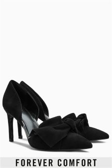 Suede Bow Courts
