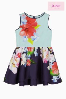 Baker By Ted Baker Forget Me Not Printed Dress