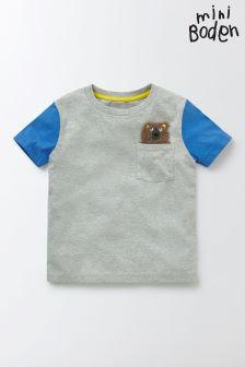 Boden Grey Pocket Friends T-Shirt