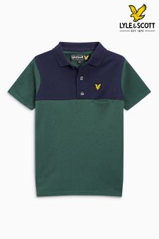 Lyle & Scott Colourblock Polo