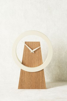 Contemporary Wooden Mantle Clock