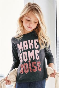 Make Some Noise Sequin T-Shirt (3-16yrs)