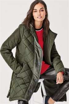 Womens Green Jackets Amp Green Khaki Jackets Next Uk