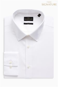 Signature Oxford Forward Point Collar Slim Fit Shirt