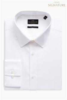 Signature Oxford Forward Point Collar Slim Fit Shirt