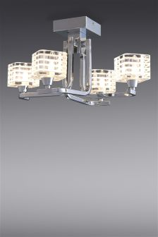 Loop 4 Light Semi Flush