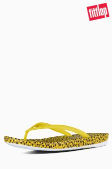 Fit Flop Yellow Iqushion Ergonomic Flip Flop