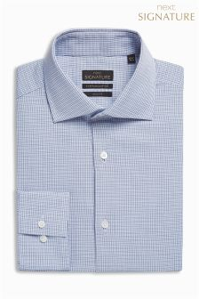 Check Signature Premium Egyptian Cotton Slim Fit Shirt