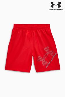 Under Armour Red Graphic 8 Short