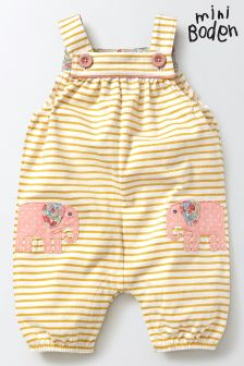 Boden Yellow Fun Dungaree