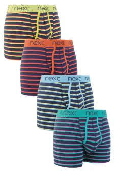 Dual Stripe A-Fronts Four Pack