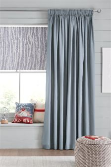 Cotton Multi Header Blackout Curtains Studio Collection By Next