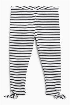 Stripe Tie Side Leggings (3-16yrs)