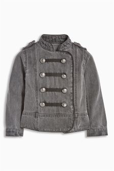 Military Denim Jacket (3mths-6yrs)