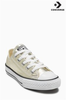 Converse Gold Metallic Chuck Ox