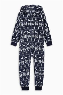Fairisle Pattern All-In-One (3-16yrs)