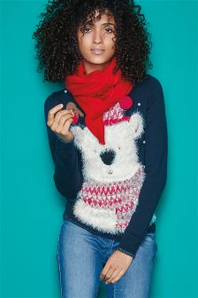 Christmas Polar Bear Jumper