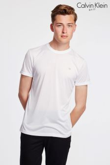 Calvin Klein White T-Shirt With Embroidery