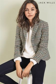 Jack Wills Check Austberry Jacket