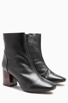 Signature Unlined Suede Ankle Boots