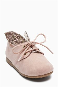 Tie-Up Bunny Ear Shoes (Younger Girls)