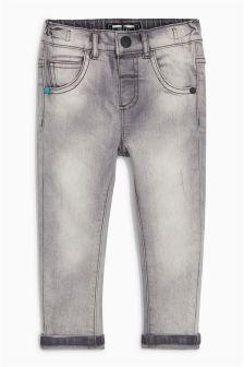 Slub Five Pocket Jeans (3mths-6yrs)
