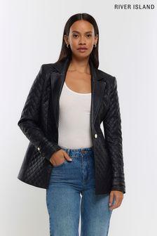 Watercolour Flourish Print Eyelet Curtain Fabric Sample
