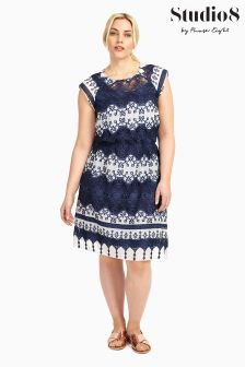 Studio 8 Navy Ellis Dress