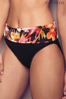Fantasie Black Ko Phi Classic Fold Bikini Brief