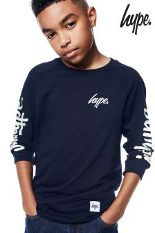 Hype Long Sleeve Printed Tee